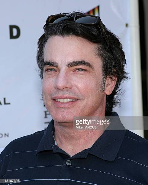 6th Annual Academy of Television Arts Sciences Foundation Celebrity Golf Classic in Los Angeles United States on April 11 2005 Peter Gallagher at the...