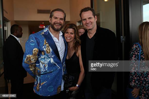 DIEGO 2015 6th Annual Blogger Party Pictured Bryan Fuller Executive Producer Writer Hannibal Beth Toussaint Jack Coleman Heroes Reborn Saturday July...