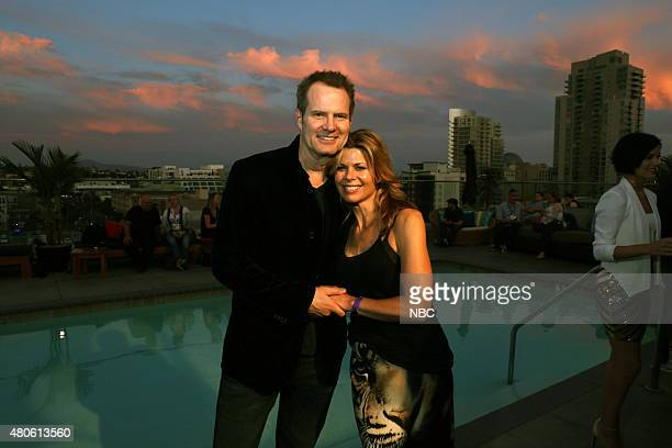 DIEGO 2015 6th Annual Blogger Party Pictured Jack Coleman Heroes Reborn Beth Toussaint Saturday July 11 from the Andaz Hotel San Diego Calif
