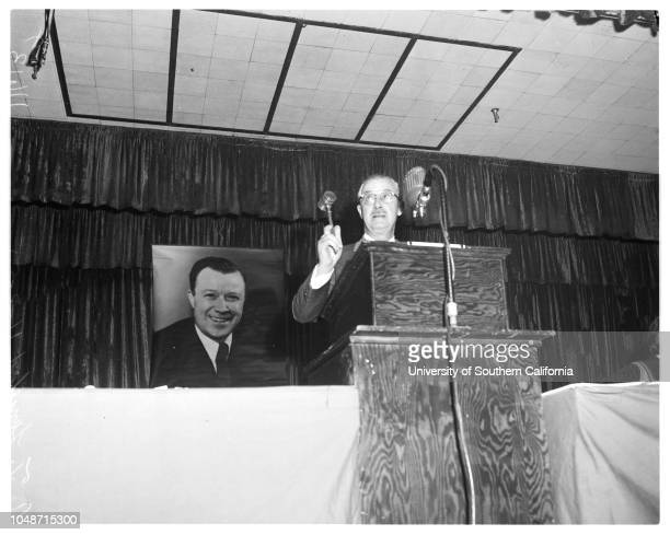 6th annual convention of Council of Industrial Organizations California Industrial Union Council 3 November 1955 Manuel Dias AT Lunceford John Despol...
