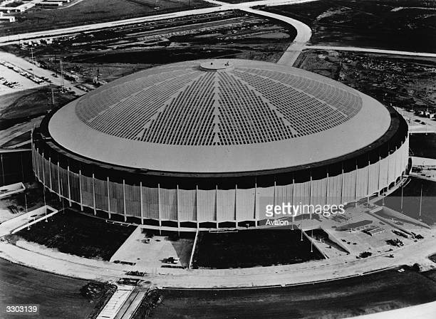 The Houston Astrodome Stadium in Houston Texas