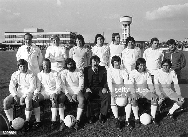 Former Manchester United footballer George Best before his debut for the Southern League club Dunstable Town against Manchester United reserves The...