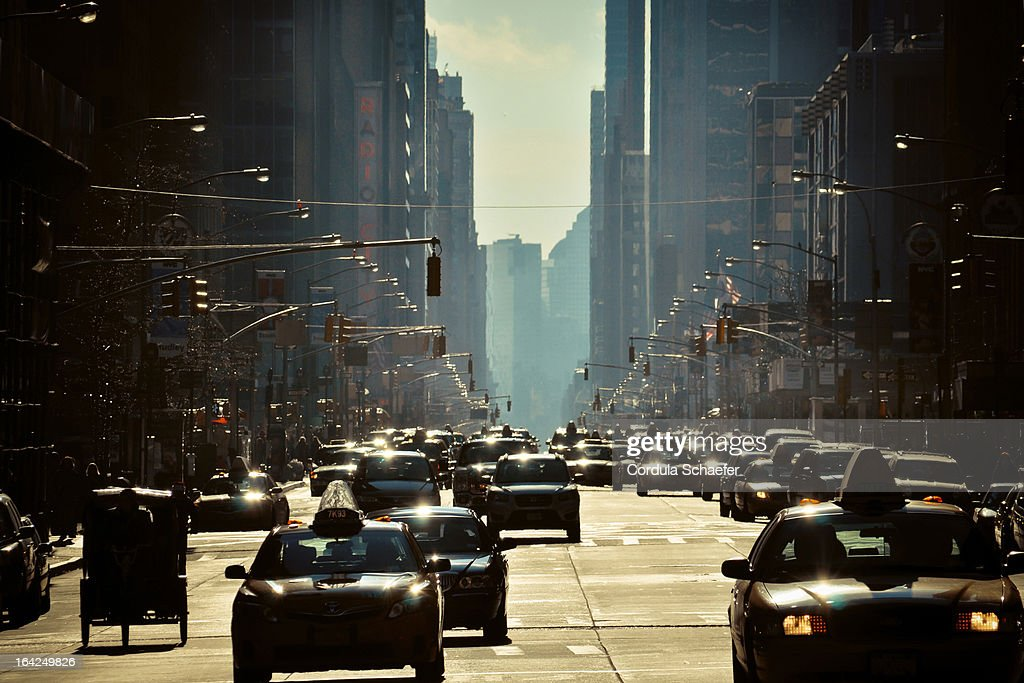 6th Avenue : Stock-Foto