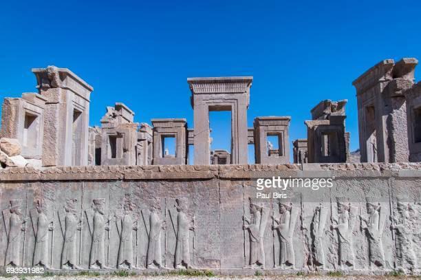 6th century BC Darius palace ruins in Persepolis, Iran