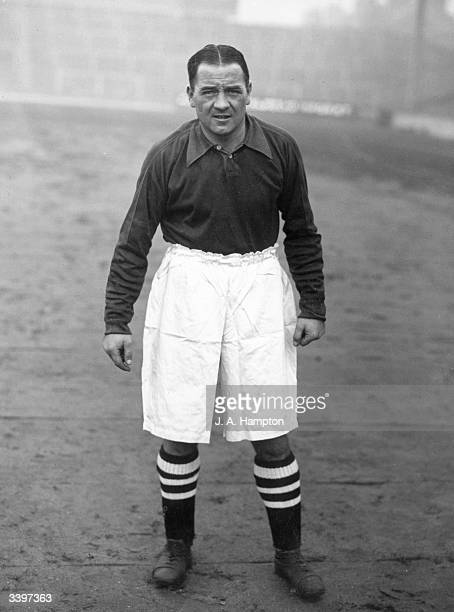 Scottish footballer Alex James who was born in Mossend Lanarkshire and began his professional career at Raith Rovers He was signed by Arsenal manager...