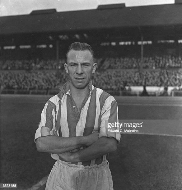 Stoke FC soccer player Oscroft.