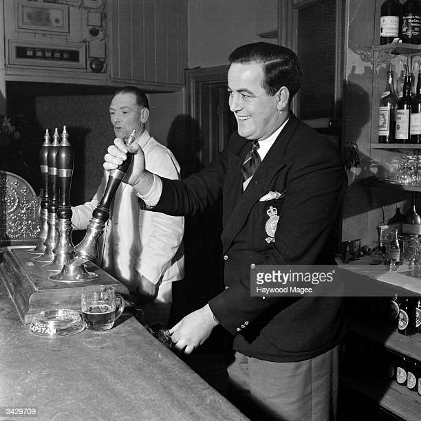 Barman John Henry pulls a professional pint of bitter but in his spare time he provides entertainment at local hospitals and old people's homes He is...