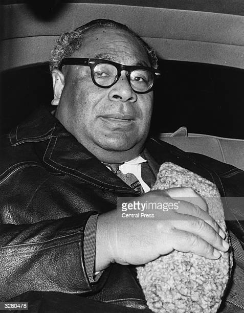 The King Of Tonga, Taufa'ahau , Tupou VI, arrives in London on a 6 week private visit.