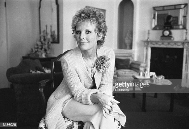 Former British child star and pop singer Petula Clark