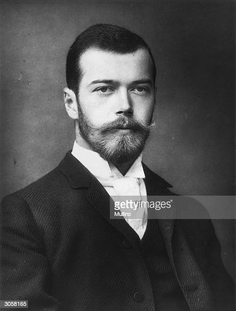 Nicholas II the last Emperor of Russia visits England for the wedding of King George V and Queen Mary
