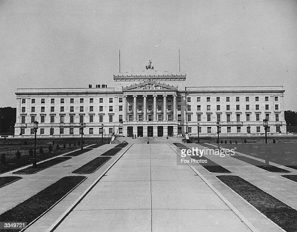 Northern Ireland's new Houses of Parliament at Stormont in Belfast