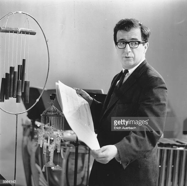 Italian avant garde composer Luciano Berio cofounder of the noted electronic music centre Studio di Fonologia Musicale in Milan Berio also composed...