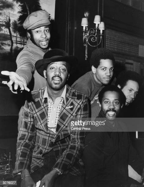Tamla Motown soul vocal group The Temptations in London