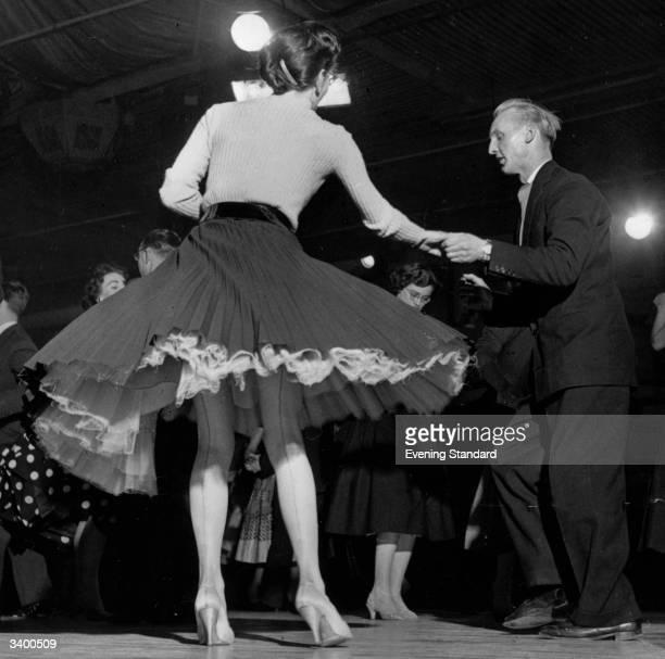 Dancing at Hammersmith Palais, London.