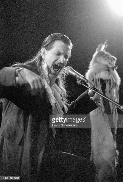 6th OCTOBER: Singer Willy DeVille performs live on stage at the Crossing Border festival in The Hague, Netherlands on 6th October 1999.