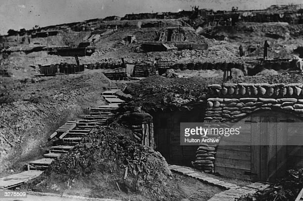 French dugouts near Verdun