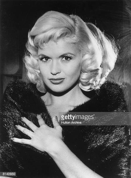 Hollywood sex symbol Jayne Mansfield born Vera Jayne Palmer in Pennsylvania