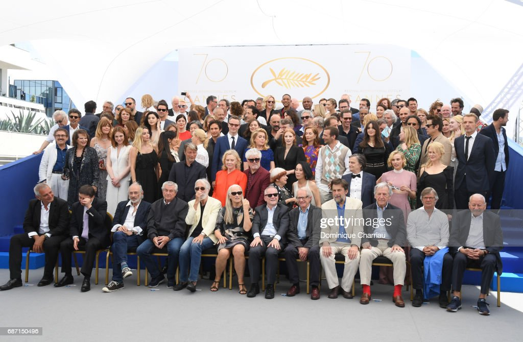 70th Anniversary Photocall - The 70th Annual Cannes Film Festival : News Photo