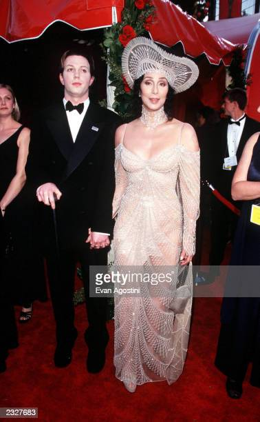 70th ANNUAL ACADEMY AWARDS AT THE SHRINE AUDITORIUM ARRIVALS: CHER AND SON ELIJAH BLUE PHOTO: Evan Agostini/ImageDirect