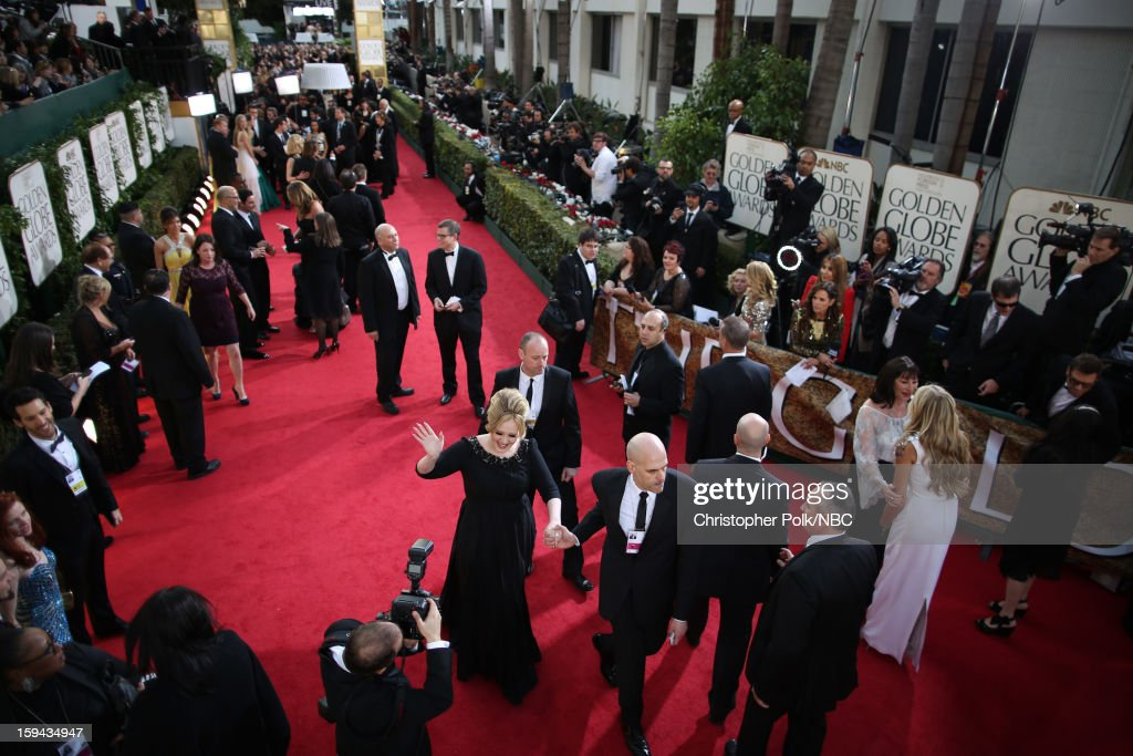 70th ANNUAL GOLDEN GLOBE AWARDS -- Pictured: A general view of the atmosphere at the 70th Annual Golden Globe Awards held at the Beverly Hilton Hotel on January 13, 2013.