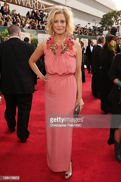 70th ANNUAL GOLDEN GLOBE AWARDS Pictured Actress Anna Gunn arrives to the 70th Annual Golden Globe Awards held at the Beverly Hilton Hotel on January...