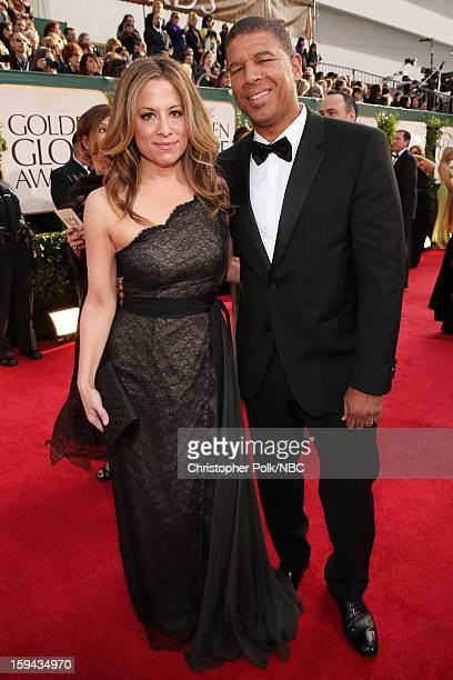 70th ANNUAL GOLDEN GLOBE AWARDS Pictured Director Peter Ramsey arrives to the 70th Annual Golden Globe Awards held at the Beverly Hilton Hotel on...