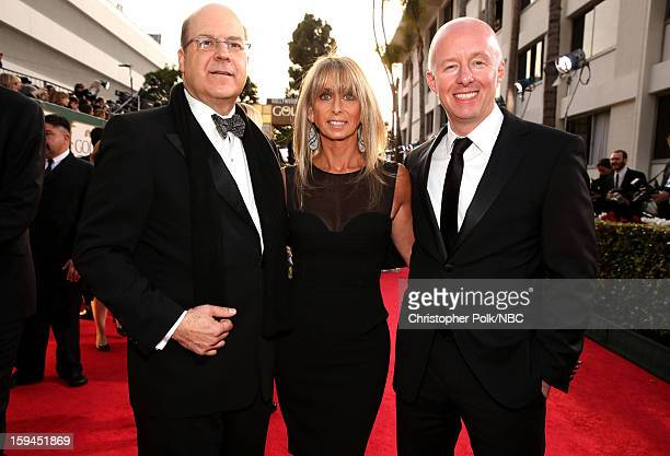 70th ANNUAL GOLDEN GLOBE AWARDS Pictured Jeff Wachtel CoPresident USA Network CoHead Original Content Universal Cable Productions Bonnie Hammer...