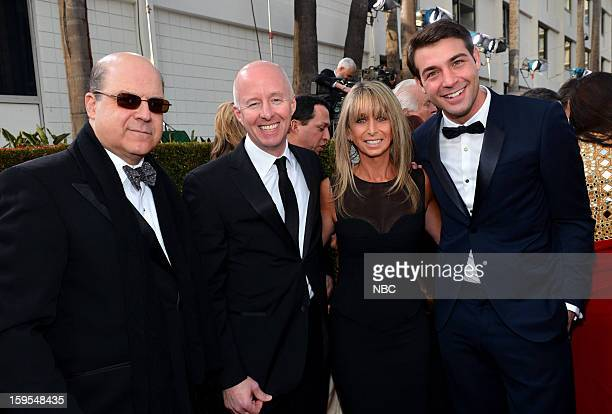70th ANNUAL GOLDEN GLOBE AWARDS Pictured Jeff Wachtel CoPresident USA Network CoHead Original Content Universal Cable Productions Chris McCumber...