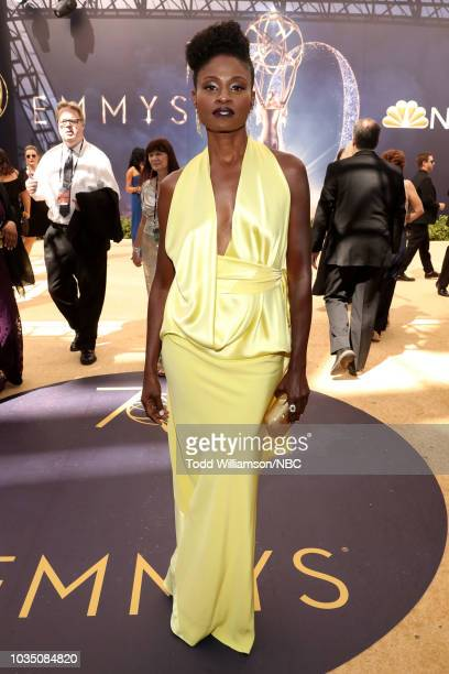 70th ANNUAL PRIMETIME EMMY AWARDS Pictured Actor Adina Porter arrives to the 70th Annual Primetime Emmy Awards held at the Microsoft Theater on...