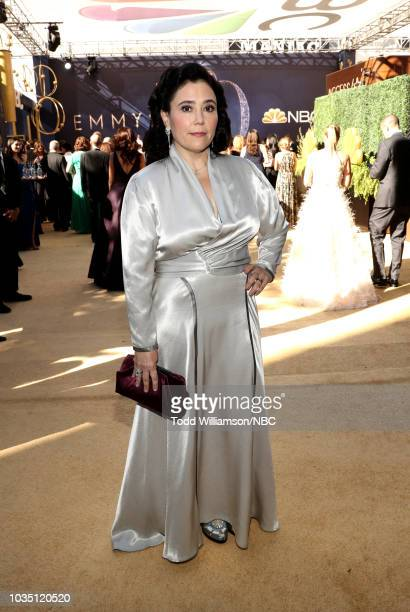 70th ANNUAL PRIMETIME EMMY AWARDS Pictured Actor Alex Borstein arrives to the 70th Annual Primetime Emmy Awards held at the Microsoft Theater on...