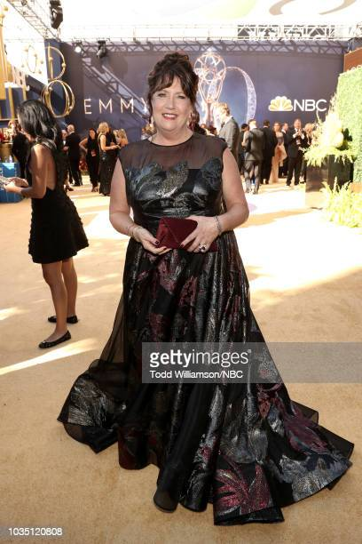 70th ANNUAL PRIMETIME EMMY AWARDS Pictured Actor Ann Dowd arrives to the 70th Annual Primetime Emmy Awards held at the Microsoft Theater on September...