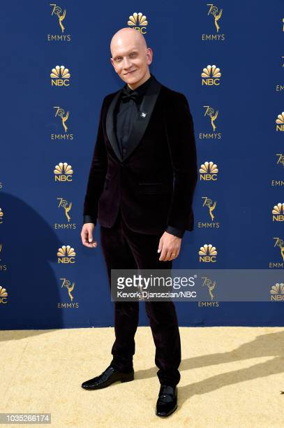 70th ANNUAL PRIMETIME EMMY AWARDS Pictured Actor Anthony Carrigan arrives to the 70th Annual Primetime Emmy Awards held at the Microsoft Theater on...