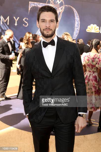 70th ANNUAL PRIMETIME EMMY AWARDS Pictured Actor Ben Barnes arrives to the 70th Annual Primetime Emmy Awards held at the Microsoft Theater on...