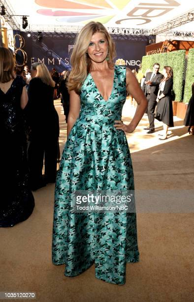 70th ANNUAL PRIMETIME EMMY AWARDS Pictured Actor Connie Britton arrives to the 70th Annual Primetime Emmy Awards held at the Microsoft Theater on...