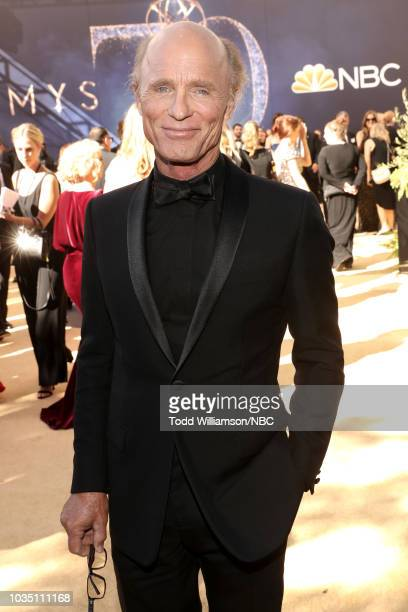 70th ANNUAL PRIMETIME EMMY AWARDS Pictured Actor Ed Harris arrives to the 70th Annual Primetime Emmy Awards held at the Microsoft Theater on...