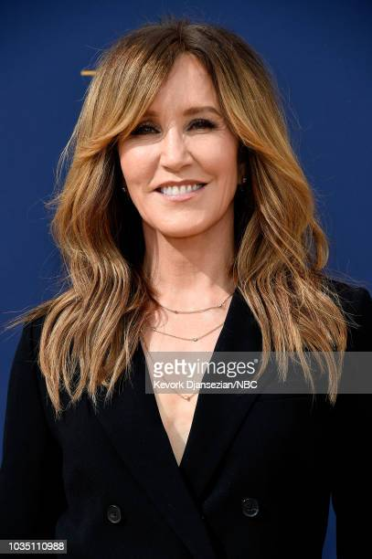 70th ANNUAL PRIMETIME EMMY AWARDS Pictured Actor Felicity Huffman arrives to the 70th Annual Primetime Emmy Awards held at the Microsoft Theater on...