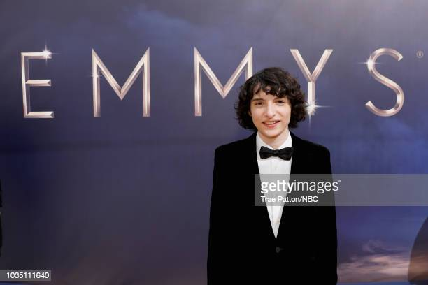 70th ANNUAL PRIMETIME EMMY AWARDS Pictured Actor Finn Wolfhard arrives to the 70th Annual Primetime Emmy Awards held at the Microsoft Theater on...