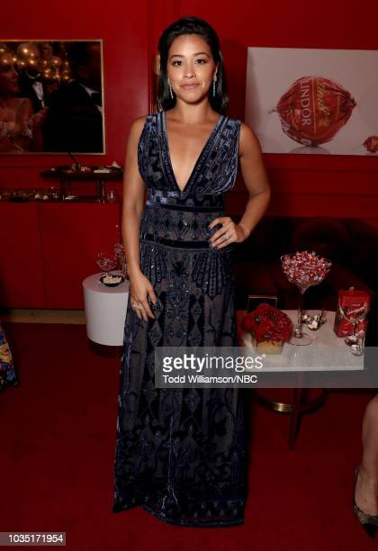 70th ANNUAL PRIMETIME EMMY AWARDS Pictured Actor Gina Rodriguez attends the 70th Annual Primetime Emmy Awards held at the Microsoft Theater on...