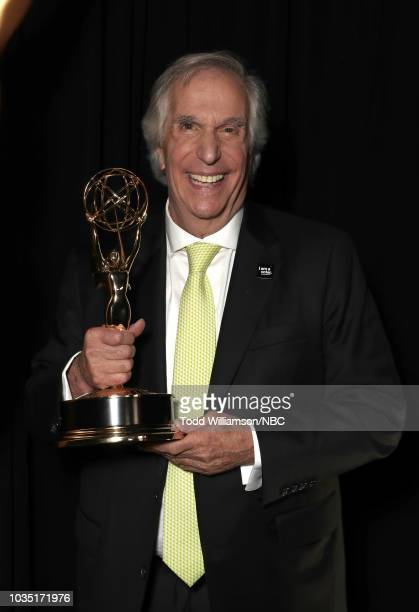 70th ANNUAL PRIMETIME EMMY AWARDS Pictured Actor Henry Winkler attends the 70th Annual Primetime Emmy Awards held at the Microsoft Theater on...