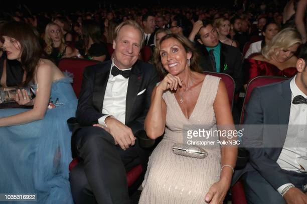 70th ANNUAL PRIMETIME EMMY AWARDS Pictured Actor Jeff Daniels and Kathleen Rosemary Treado attend the 70th Annual Primetime Emmy Awards held at the...