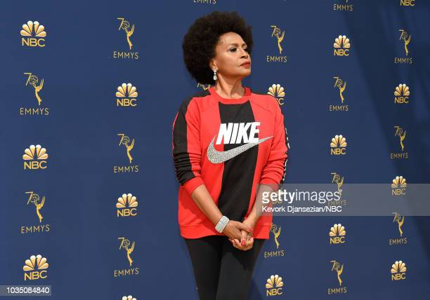 70th ANNUAL PRIMETIME EMMY AWARDS Pictured Actor Jenifer Lewis arrives to the 70th Annual Primetime Emmy Awards held at the Microsoft Theater on...
