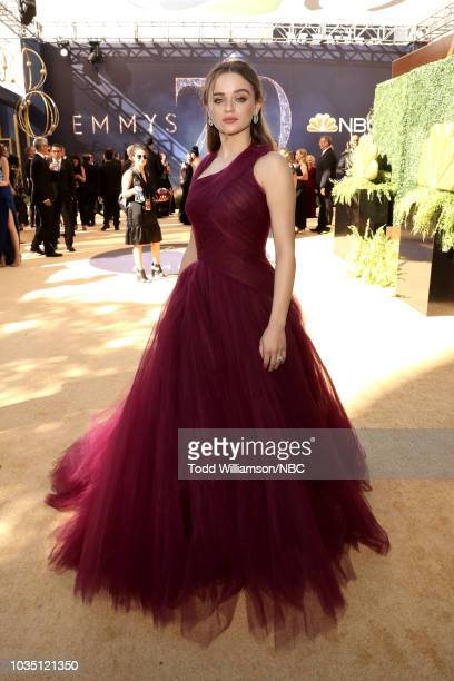 70th ANNUAL PRIMETIME EMMY AWARDS Pictured Actor Joey King arrives to the 70th Annual Primetime Emmy Awards held at the Microsoft Theater on...
