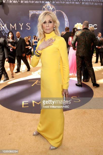 70th ANNUAL PRIMETIME EMMY AWARDS Pictured Actor Judith Light arrives to the 70th Annual Primetime Emmy Awards held at the Microsoft Theater on...
