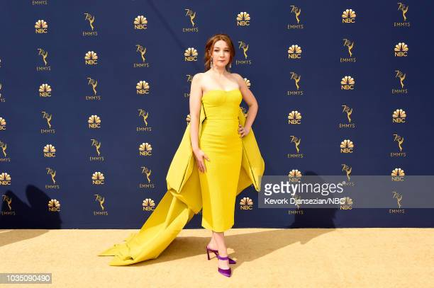 70th ANNUAL PRIMETIME EMMY AWARDS Pictured Actor Kayli Carter arrives to the 70th Annual Primetime Emmy Awards held at the Microsoft Theater on...