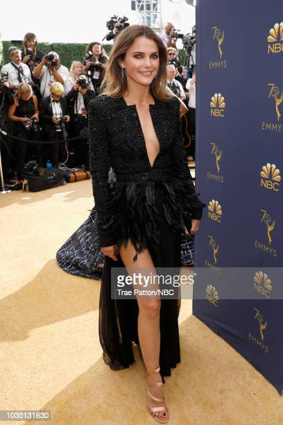 70th ANNUAL PRIMETIME EMMY AWARDS Pictured Actor Keri Russell arrives to the 70th Annual Primetime Emmy Awards held at the Microsoft Theater on...
