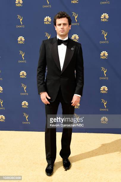 70th ANNUAL PRIMETIME EMMY AWARDS Pictured Actor Luke Kirby arrives to the 70th Annual Primetime Emmy Awards held at the Microsoft Theater on...