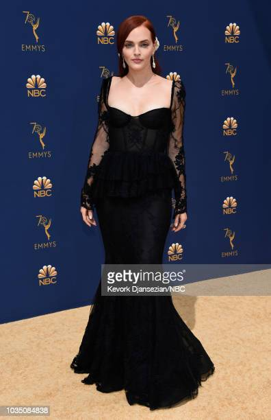 70th ANNUAL PRIMETIME EMMY AWARDS Pictured Actor Madeline Brewer arrives to the 70th Annual Primetime Emmy Awards held at the Microsoft Theater on...
