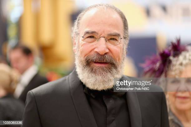 70th ANNUAL PRIMETIME EMMY AWARDS -- Pictured: Actor Mandy Patinkin arrives to the 70th Annual Primetime Emmy Awards held at the Microsoft Theater on...