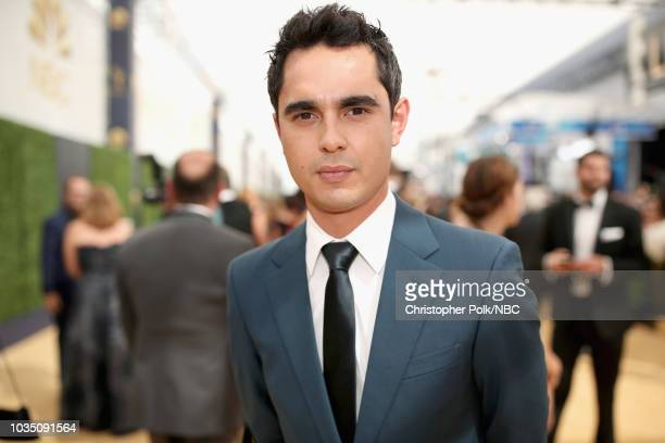 70th ANNUAL PRIMETIME EMMY AWARDS Pictured Actor Max Minghella arrives to the 70th Annual Primetime Emmy Awards held at the Microsoft Theater on...