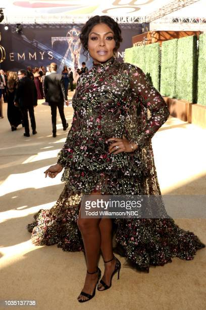 70th ANNUAL PRIMETIME EMMY AWARDS Pictured Actor Taraji P Henson arrives to the 70th Annual Primetime Emmy Awards held at the Microsoft Theater on...